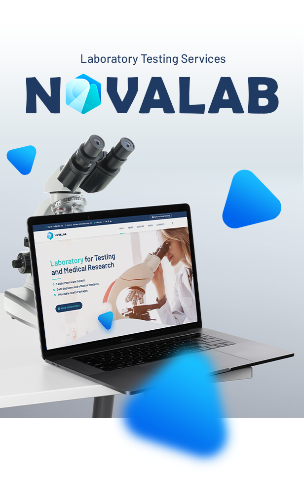NovaLab - Science Research & Laboratory - 3